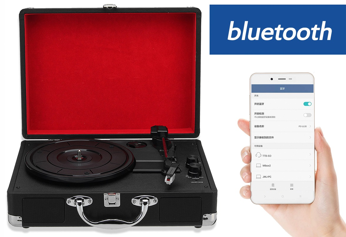 Few things to know about Bluetooth turntables2
