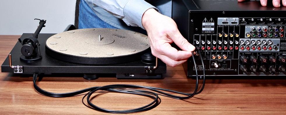What do you need for turntable setup?2